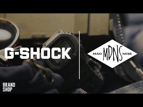 G-SHOCK × Madness DW-5000MD: влияние милитари