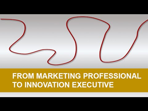 From Marketing Professional to Innovation Executive - Learn From Innovators