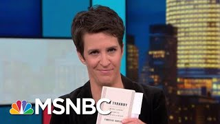 Trump Impeachment Probe Confronts 'Russian Way Of Doing Politics' | Rachel Maddow | MSNBC