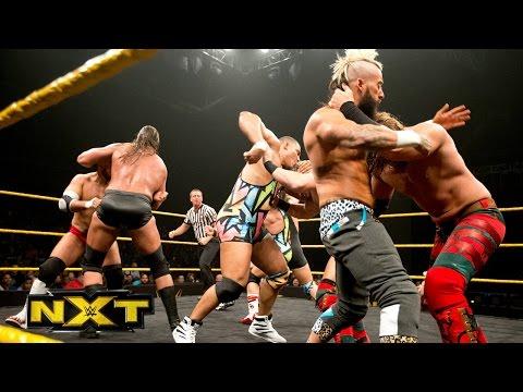 Enzo and Cass & American Alpha vs. Blake & Murphy and Dash & Dawson: WWE NXT, Feb. 17, 2016