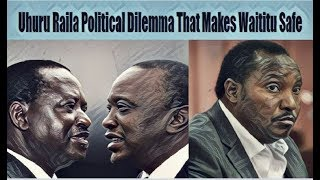Why Raila Visit To Burma Market Was Urgent