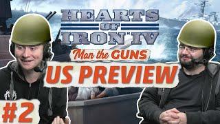 Hearts of Iron 4 | Man the Guns | US Focus Tree | Part 2