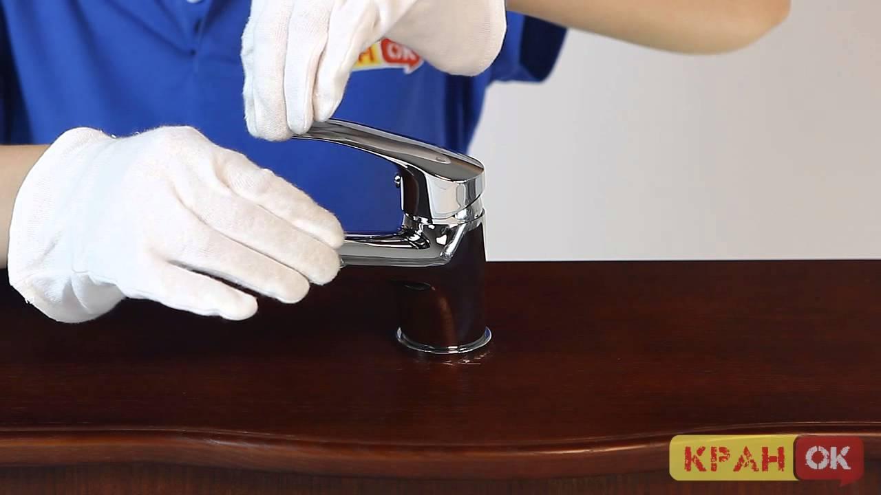 смеситель для раковины, IMPRESE KRINICE 05110 - YouTube