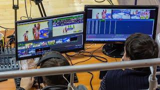 Баскетбол. Спортивные трансляции. / Видео