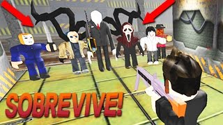 ¡YOUTUBERS VS CREEPYPASTAS! ESCAPA DEL ÁREA 51  2.0 | ROBLOX #14