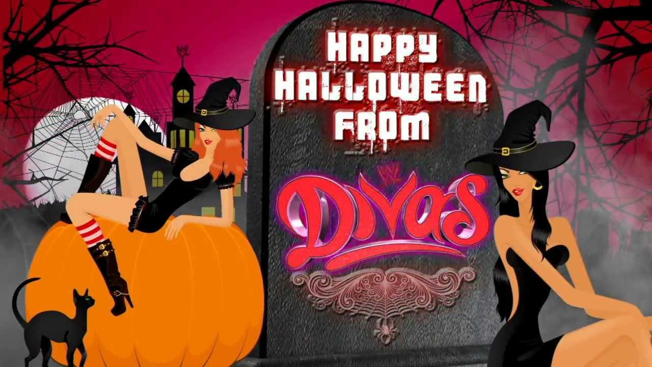 happy halloween from the wwe divas youtube - Wwe Halloween Divas