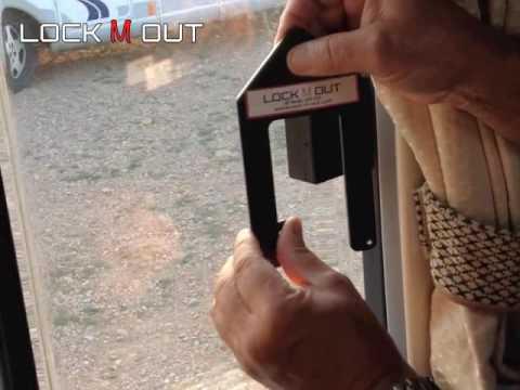 Motorhome Window Security Device