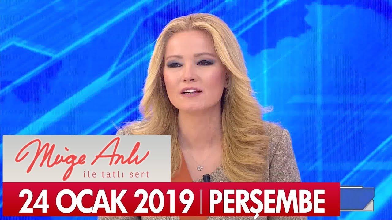 Müge Anlı ile Tatlı Sert 24 Ocak 2019 Perşembe - Tek Parça