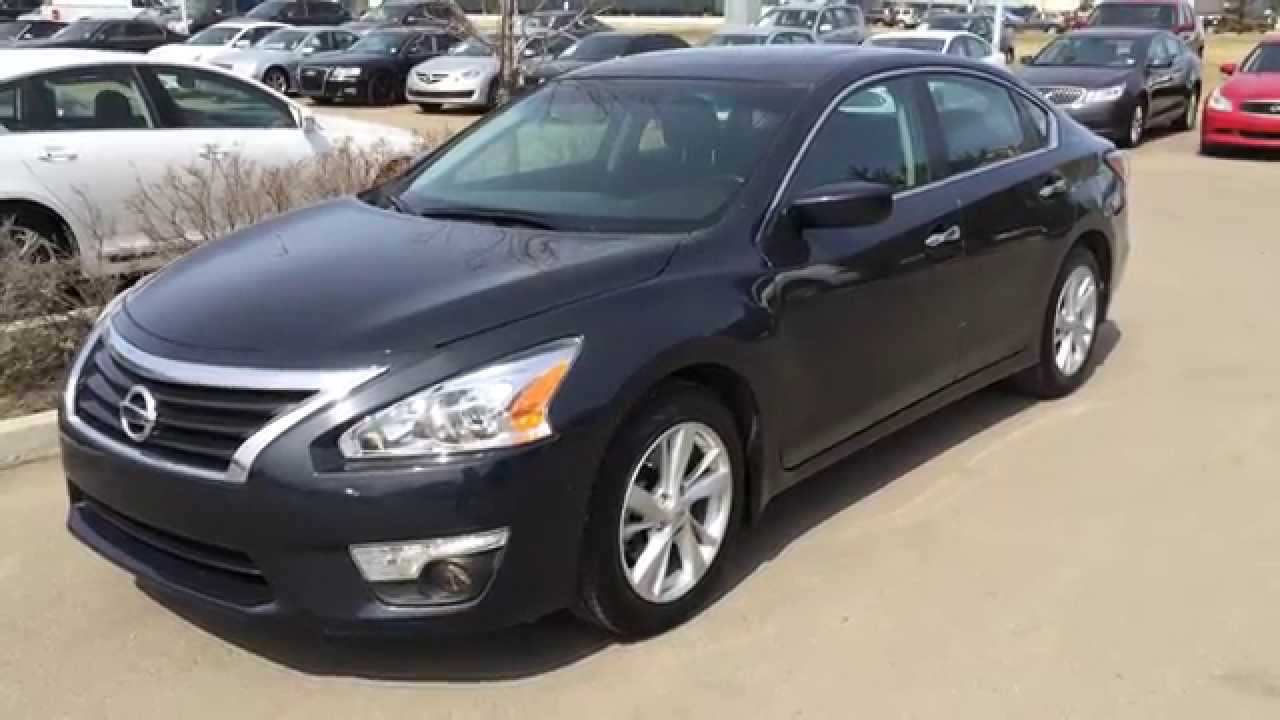 Charming Pre Owned Gray 2014 Nissan Altima SV Pure Drive   Red Deer, Alberta    YouTube
