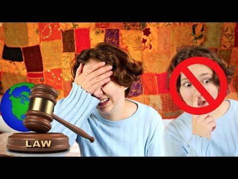 MAN FÅR INTE VARA FET I JAPAN! - Världens konstigaste lagar