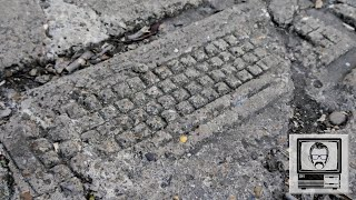 Why is a Fossilised Keyboard in this Pavement? | Nostalgia Nerd