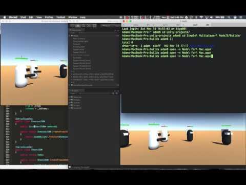 Unity 5 Multiplayer Networking Node JS socket.io Pt16