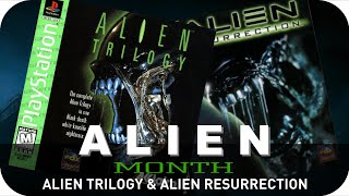 Alien Trilogy & Resurrection (PS1) - Alien Month