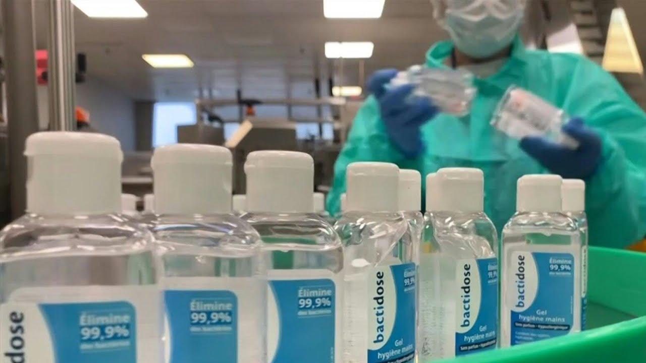 Coronavirus Les Usines De Gel Hydroalcoolique A Plein Regime