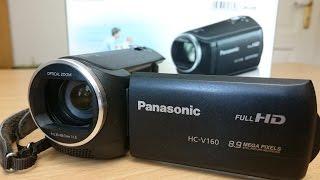 Günstige Video Kamera für Anfänger - Panasonic HC-V160 | Outdoor AusrüstungTV