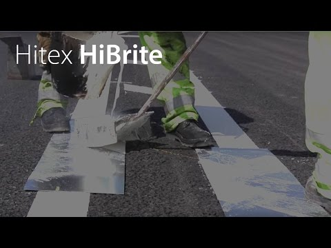 The Application of Hitex HiBrite Road Marking Material