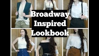 How to Dress Like your Favorite Broadway Characters- Broadway Inspired Lookbook