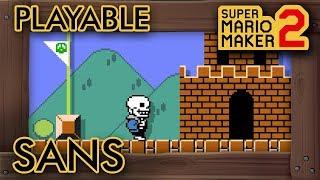 SANS in Super Mario Maker 2