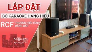 Lắp đặt Dàn karaoke đẳng cấp RCF đến từ thương hiệu ITALY Hay Nhất Hiện Nay - Loa RCF Emax 3110