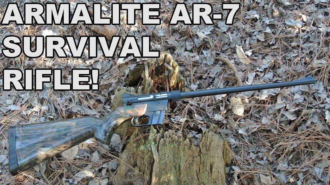 ArmaLite AR-7 Explorer! The Original Floating 22LR Survival Rifle