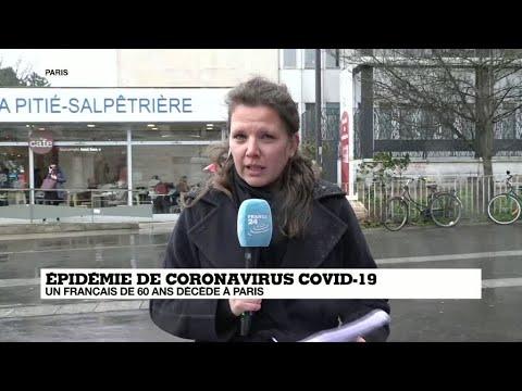 Coronavirus: un premier mort français parmi trois nouveaux cas confirmés