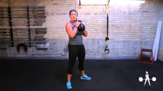 Unapologetically Powerful Demo: Kettlebell Goblet Squat