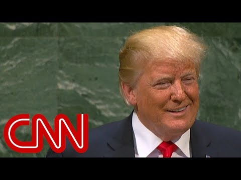 Trump brags at UN, crowd laughs