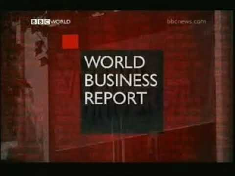BBC World: World Business Report Opening (Aaron Heslehurst) - 2003