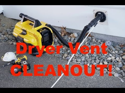 How To Clean A Dryer Duct - Step By Step