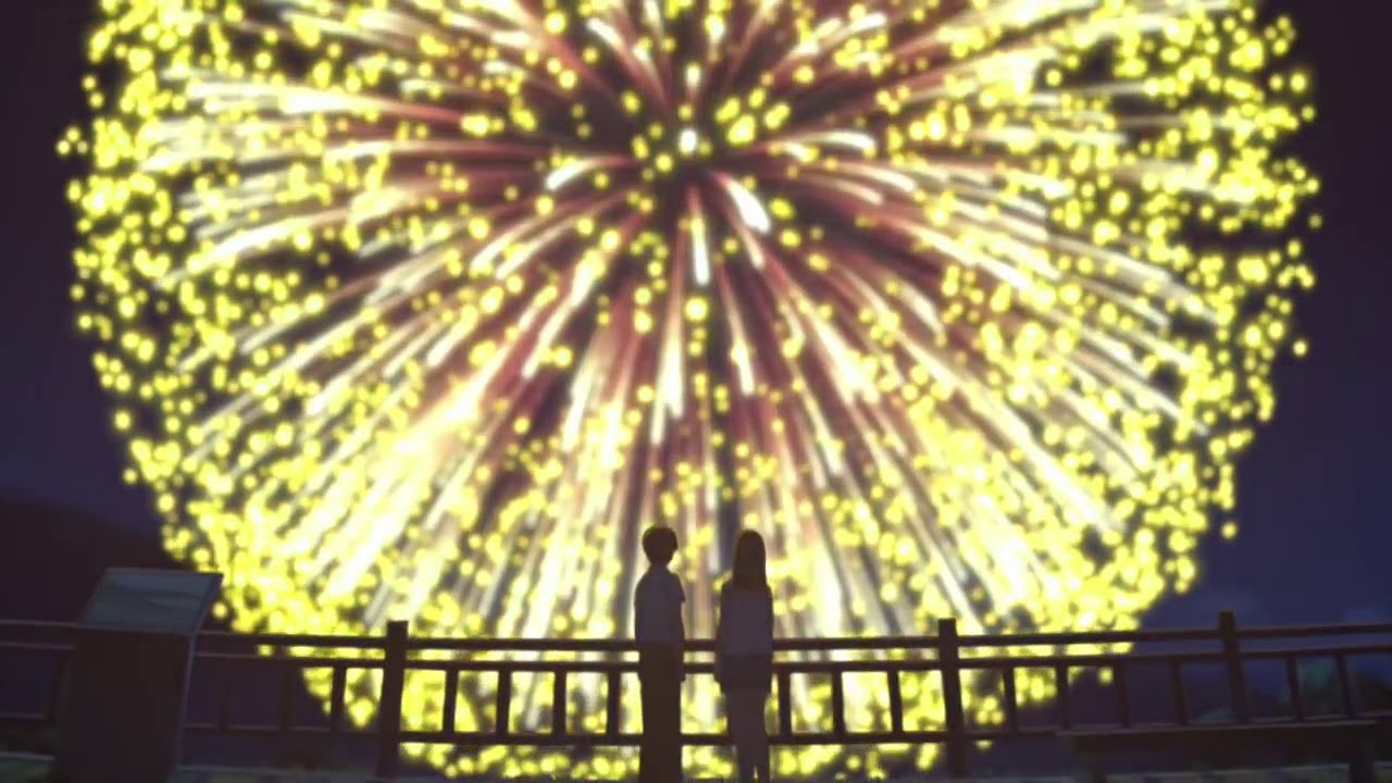 I Want To Eat Your Pancreas Firework Scene Hd Youtube