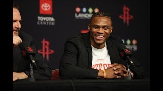 Russell Westbrook Houston Rockets Introduction | July 26