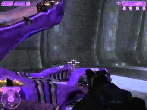 Halo 2-Final Boss killed with Banshee