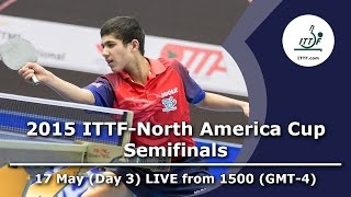 2015 ITTF-North America Cup (Day 3) - Semifinals