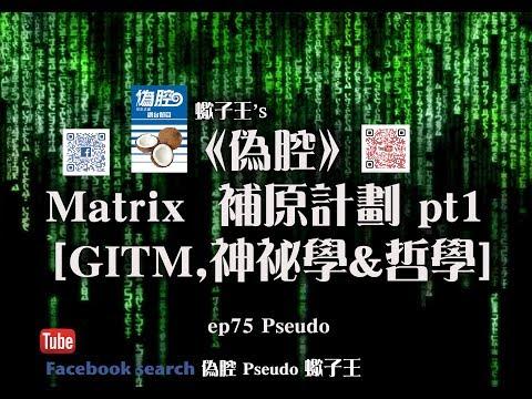 《偽腔》Matrix 補原計劃2.0 pt1 [GITM,神祕學&哲學] ep75 Pseudo
