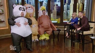 The American Idol Judges Dress up as Animals