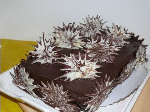 Украсить торт с фото