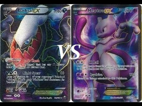 Mewtwo vs Darkrai Battle Arena Deck Discussion! - YouTube