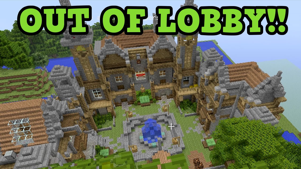OMG NEW OUT THE MAP GLICH ON MINECRAFT MINI GAMES YouTube Gaming - Minecraft spiele lobby