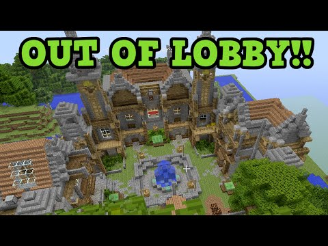 Minecraft Xbox 360 / PS3 - OUT OF MINIGAME LOBBY!