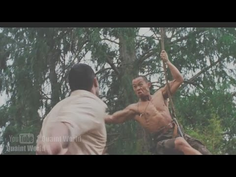 Dwayne Johnson Vs. Ernie Reyes Jr. Best Jungle Fight   The Rundown Action Movie