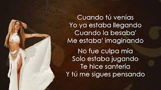 Lola Indigo, Danna Paola, Denise Rosenthal - Santeria (Letra/Lyrics)
