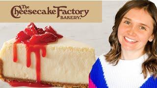 Copycat Cheesecake Factory Cheesecake recipe  Original Cheesecake  Julia Pacheco