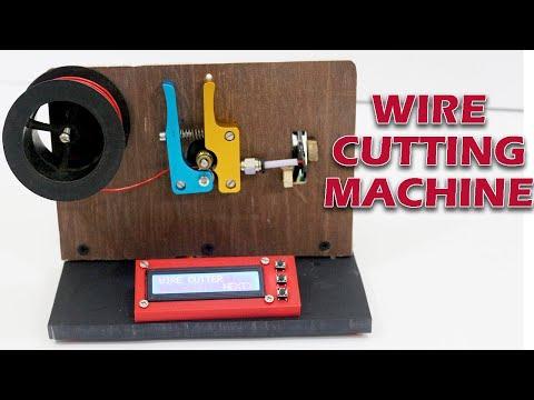 DIY Arduino based wire cutter machine