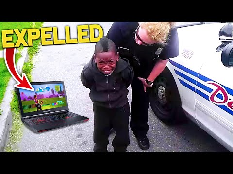 Kid Gets Expelled After Playing Fortnite In School.. (MUST WATCH!)