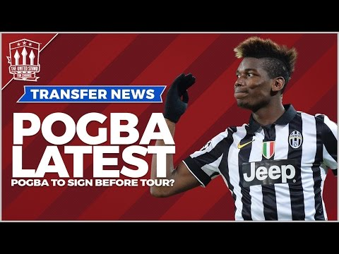 Paul Pogba to join Manchester United on China Tour - 동영상