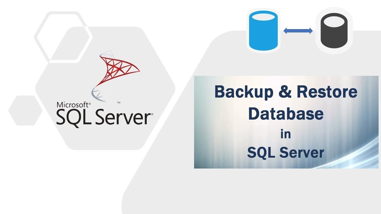 Different Backup mode in SQL Server.