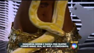 Giselle Kenj no Programa Balanço Geral - TV Record 2014 Thumbnail