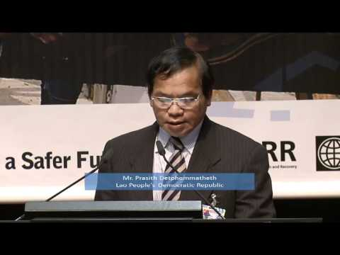 Lao People's Democratic Republic: Disaster Risk Reduction Statement at GP11