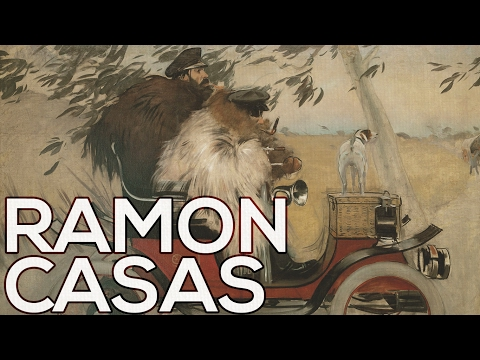 Ramon Casas: A collection of 104 paintings (HD)