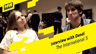 Interview with Dendi - The International 2015 (ENG SUBS)